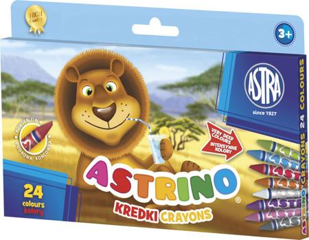 Kredki Astrino od Astra 24 kolory